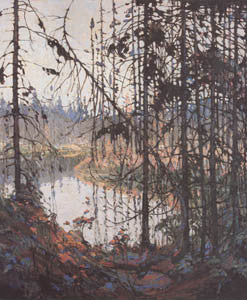 Northern River - art card