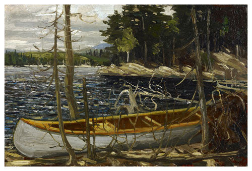 The Canoe - giclee reproduction