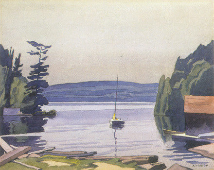 Port Carling - note card - A.J. Casson