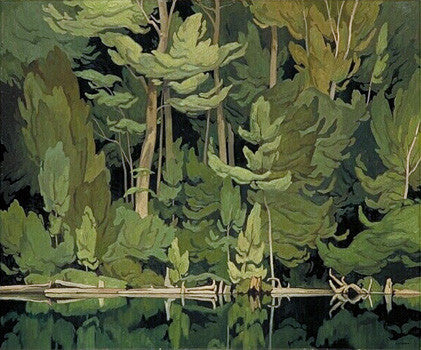 Shore Pattern - note card - A.J. Casson
