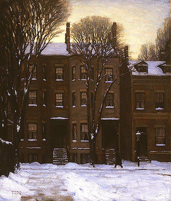 Houses, Gerrard Street, Toronto - Small Reproduction