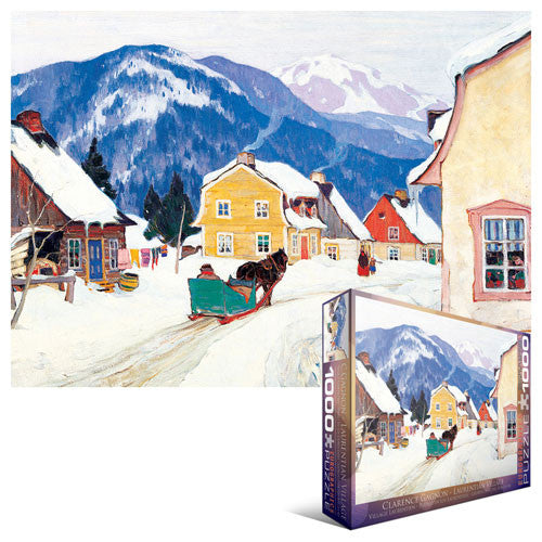 Laurentian Village -1000 piece puzzle