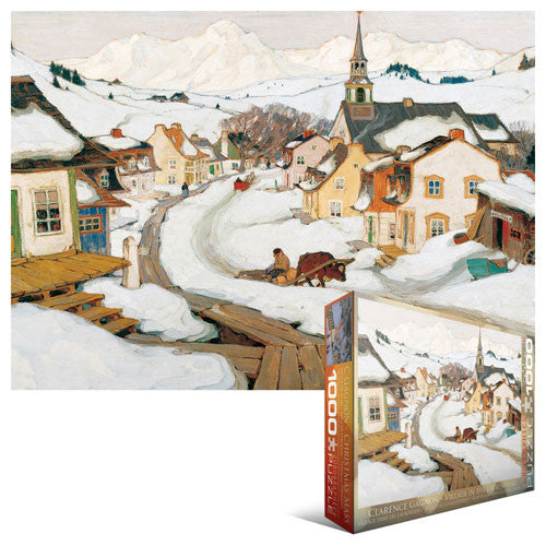 Village in the Laurentians - 1000 piece puzzle