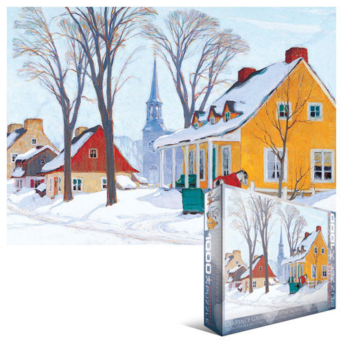 Winter Morning, Baie-St.-Paul  - 1000 piece puzzle