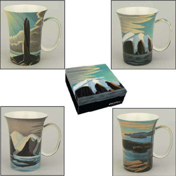 Lawren Harris - set of 4 mugs
