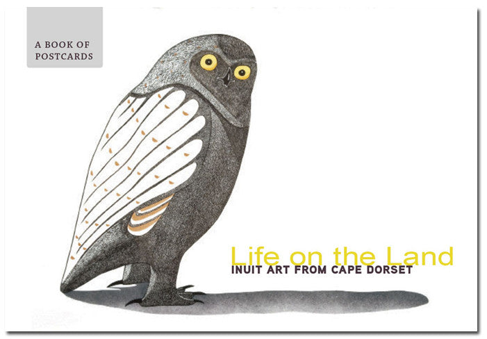 Life on the Land: Inuit Art from Cape Dorset - poastcard book