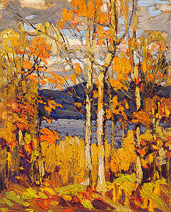 Algonquin, October - art card