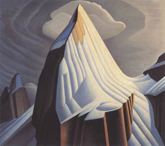 Mt. Lefroy - art card