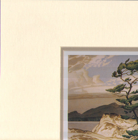White Pine - art card in matt - A.J. Casson