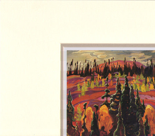 Lake Superior Country - artcard in matt - A.Y. Jackson