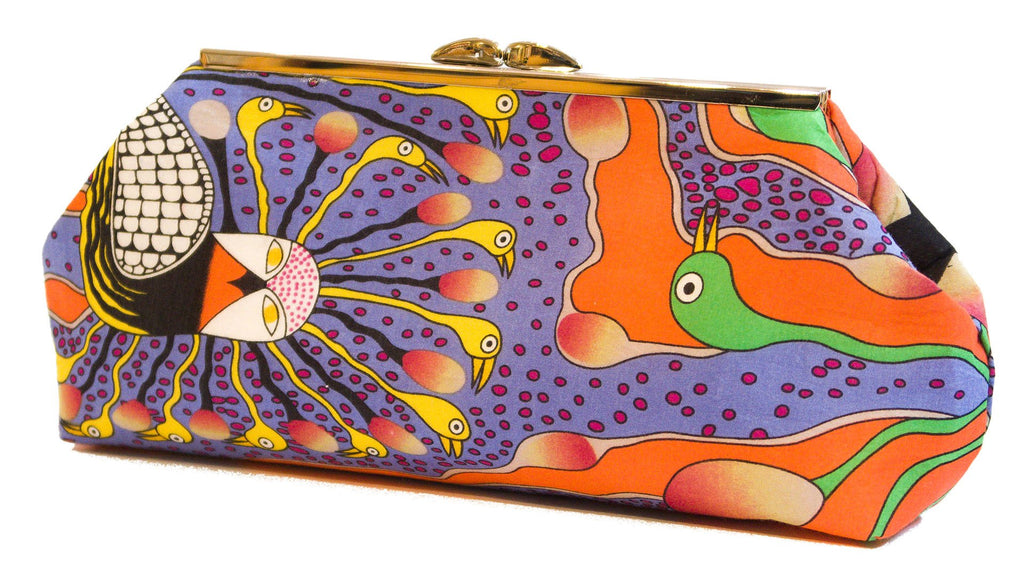 Enchanted Owl - Clutch Purse - Flame
