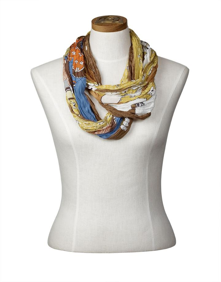 Fisher Woman Infinite Scarf