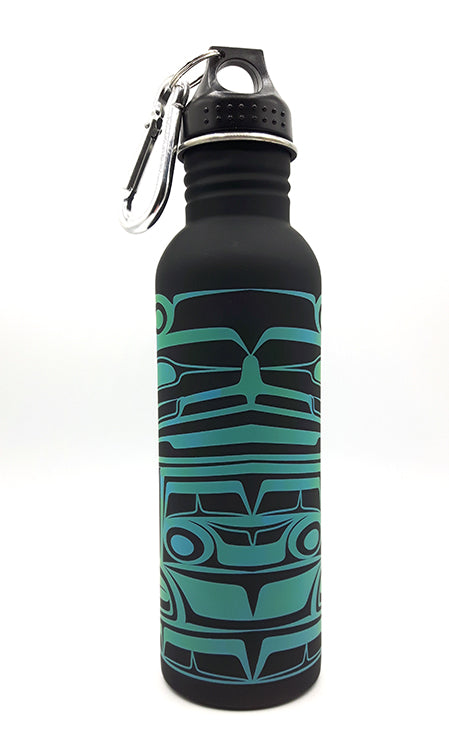 Ancestors by Ben Houstie - Water Bottle