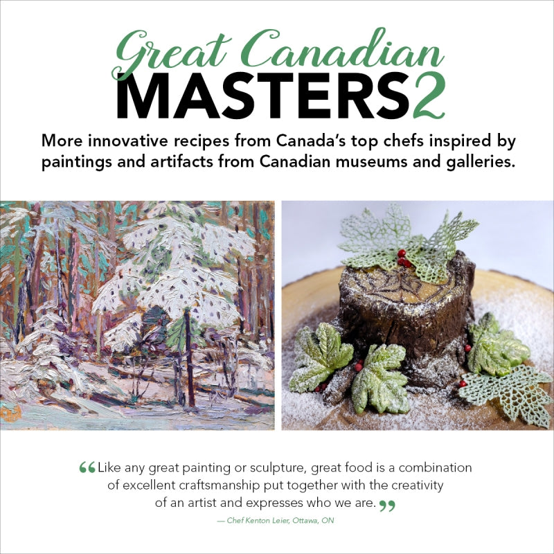Great Canadian Masters Cookbook 2