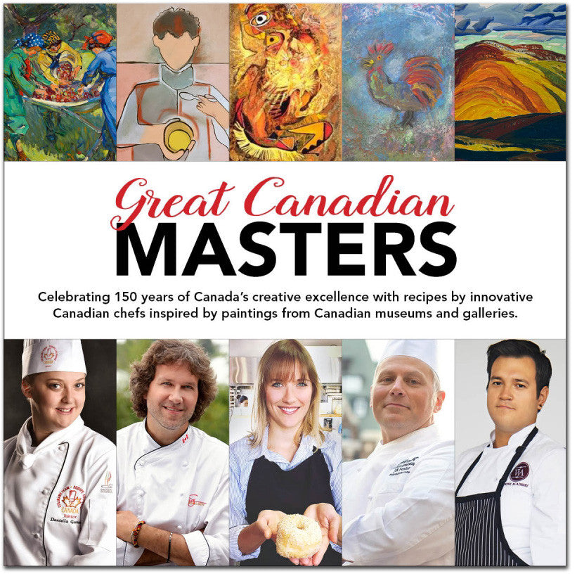 Great Canadian Masters Cookbook