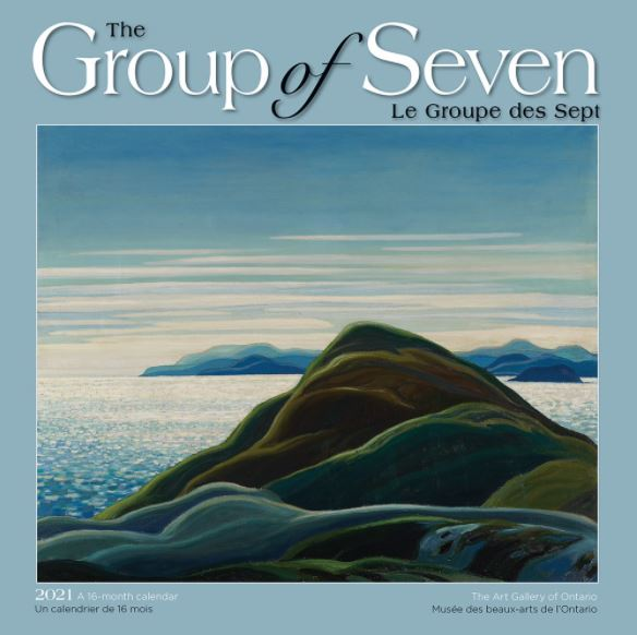 Group of Seven - 2021 Medium Size Wall Calendar