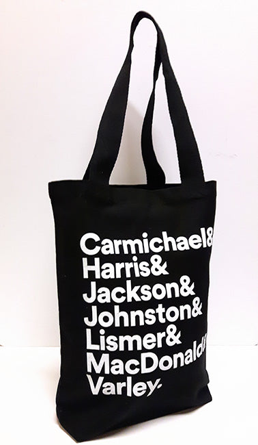 Group of Seven Tote Bag - Black