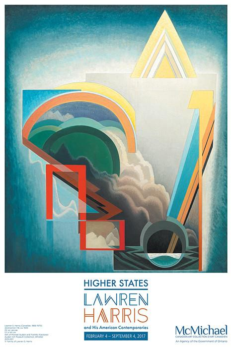 Higher States Exhibition Poster