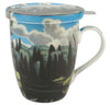 Lake in Algonquin Park Tea Mug with Infuser & Lid