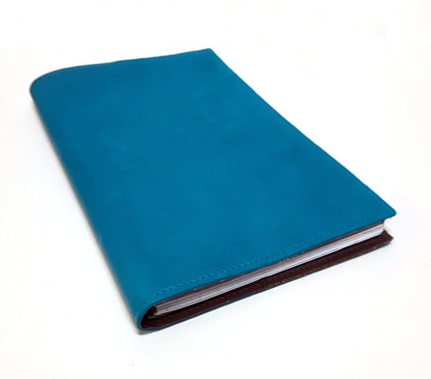 Leather Journal - Turquoise
