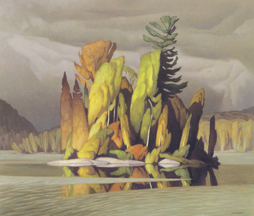 Little Island - A.J. Casson - small reproduction