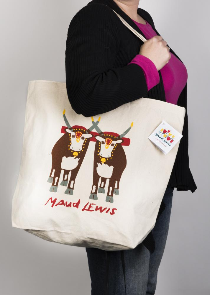Oxen Tote - Maud Lewis