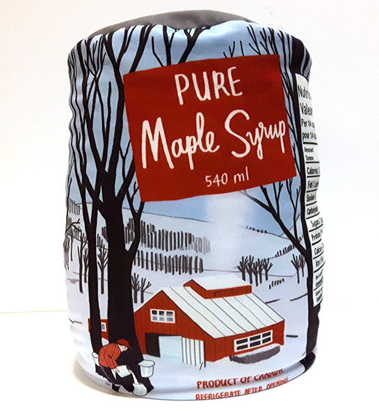 Maple Syrup Can Pillow