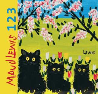 Maud Lewis 123 - board book