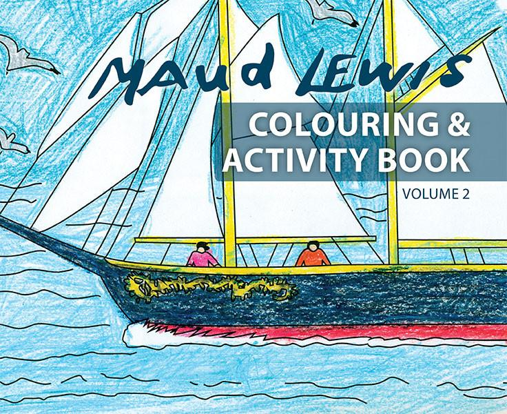 Maud Lewis Colouring & Activiity Book Volume 2