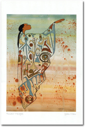 Ancient Messages - Maxine Noel - Art Card