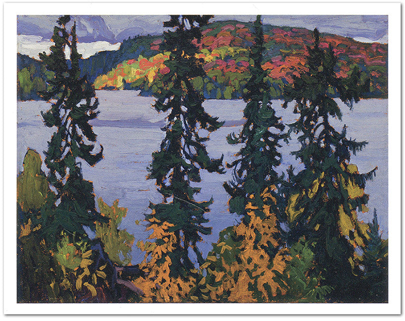 Montreal River - note card - Lawren Harris