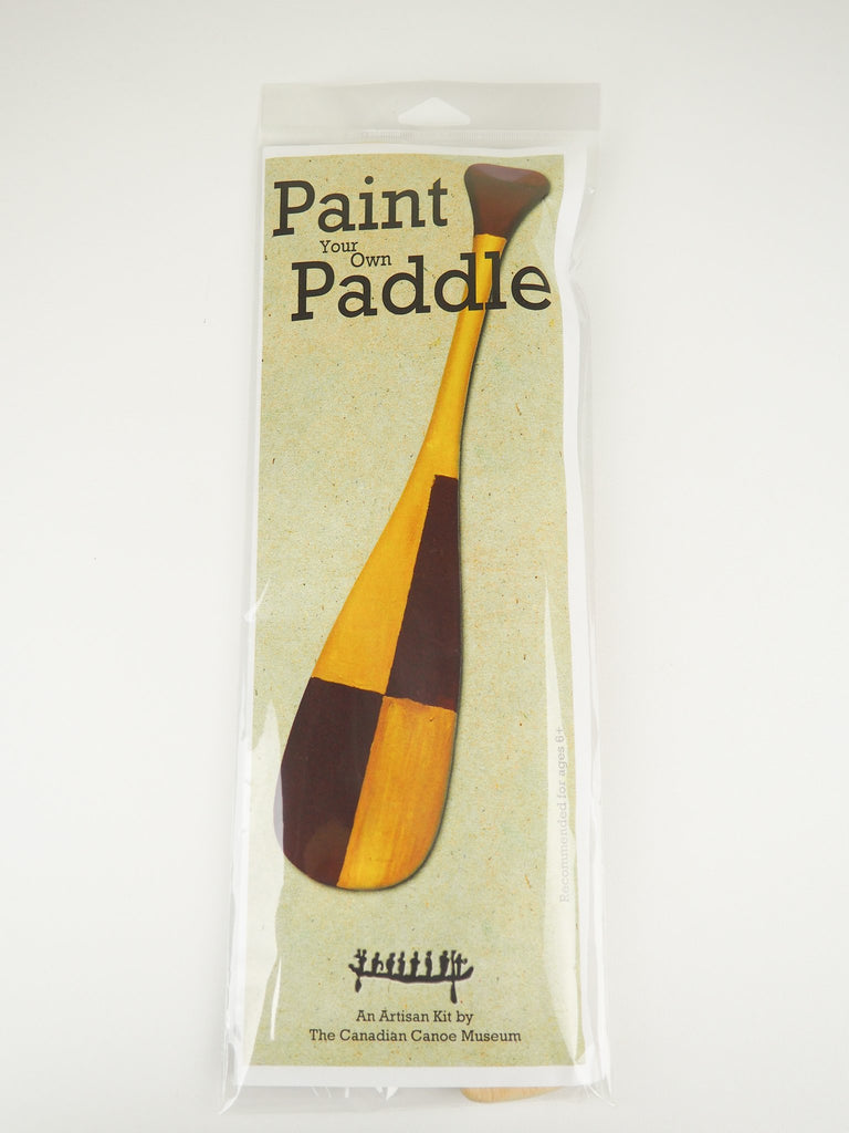 Paint Your Own Paddle Kit