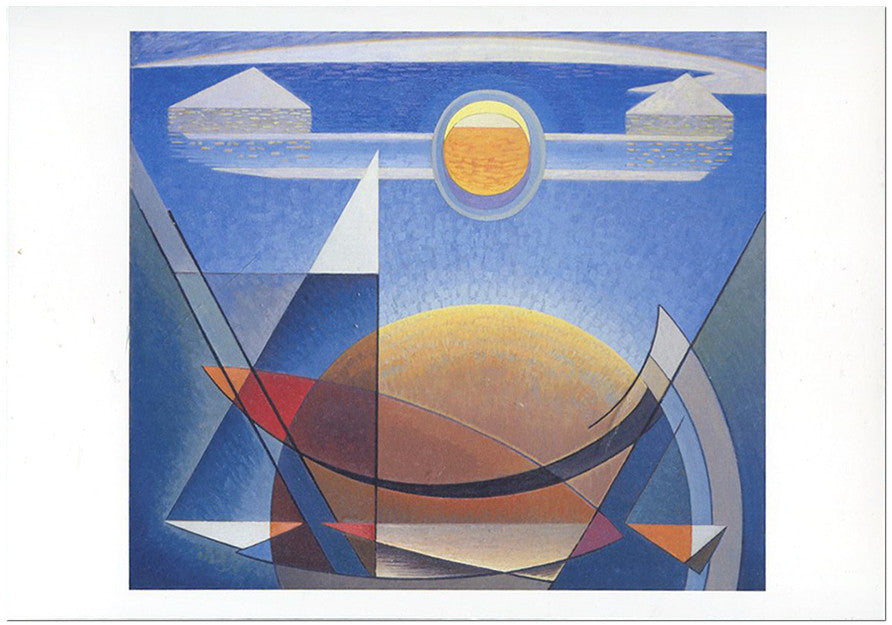 Sun and Earth - notecard - Lawren Harris