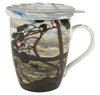 The West Wind Tea Mug with Infuser & Lid