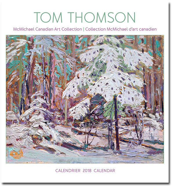 Tom Thomson 2018 Wall Calendar