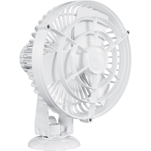 "Caframo Kona 817 24V 3-Speed 7"" Waterproof Fan - White"