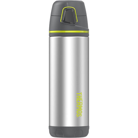 Thermos Element5® Stainless Steel, Insulated Double Wall Backpack Bottle - Charcoal w/Lime - 16 oz.