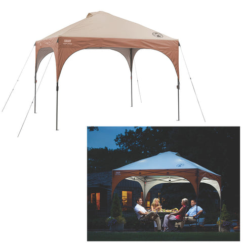 Coleman All-Night Instant Canopy w/LED Lighting System - 10' x 10'