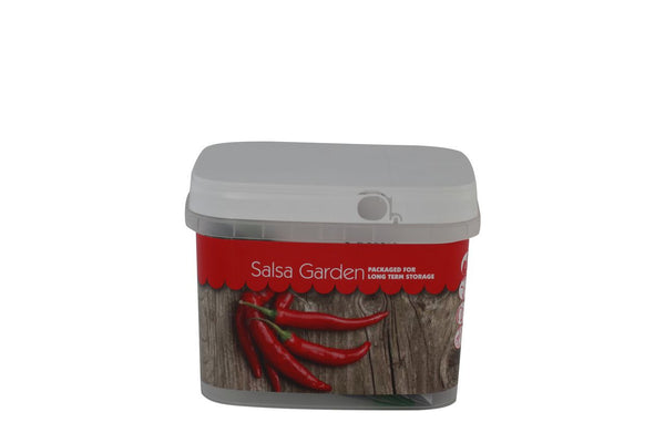 Salsa Bucket of Preparedness Seeds