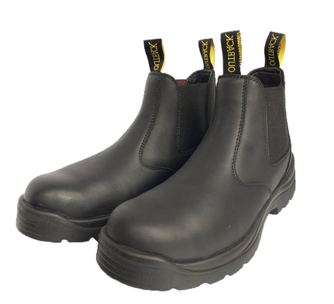 Outback Survival Gear - NEW Aussie Boot Soft Toe Black - AUNBK