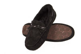 Outback Survival Gear Devon Sheepskin Moccasin Slippers Black