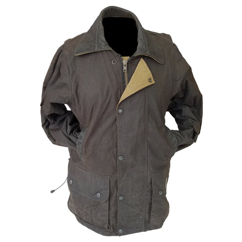 Outback Survival Gear - Brumby Oilskin Jacket