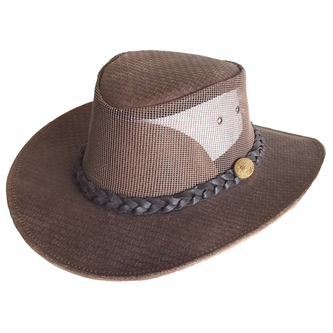 "Outback Survival Gear - Golf Pro Cooler Cooler ""Vented"" Hat - Tan"