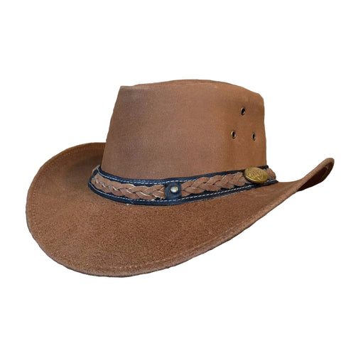 Outback Survival Gear - Buffalo Hats - Cognac