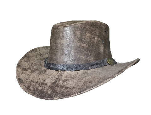 Outback Survival Gear - Maverick Crusher Hat - Hickory Stone