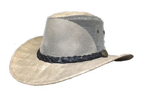 Outback Survival Gear - Maverick Cooler Hats - Bone