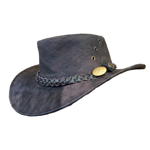 Outback Survival Gear - Wellington Breeze Hats - Coffee Rock