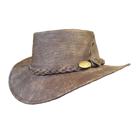 Outback Survival Gear - Wellington Breeze Hats - Hickory Stone