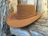 "Outback Survival Gear Squashy Cooler ""Soaker"" Hat in Tan"