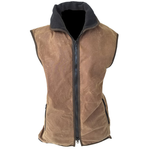 Outback Survival Gear - Promo Fleece Lined Oilskin Vest